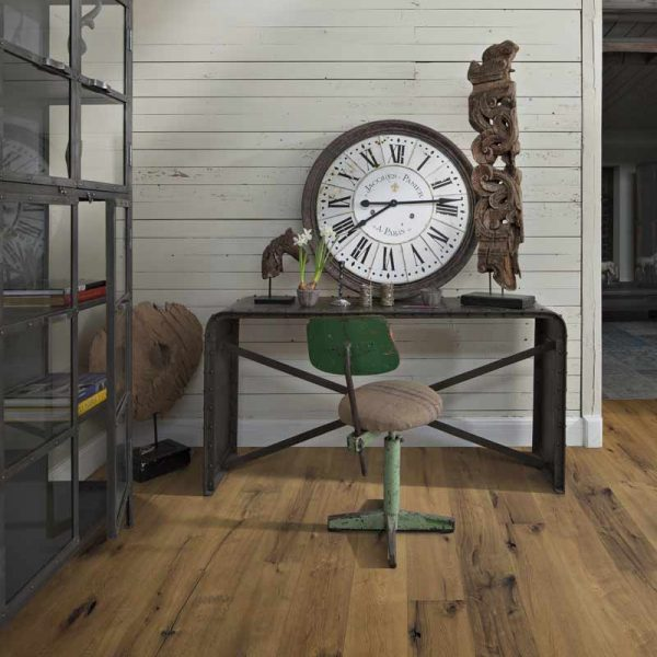 Kahrs Oak Tan Engineered Wood Flooring - Room Set