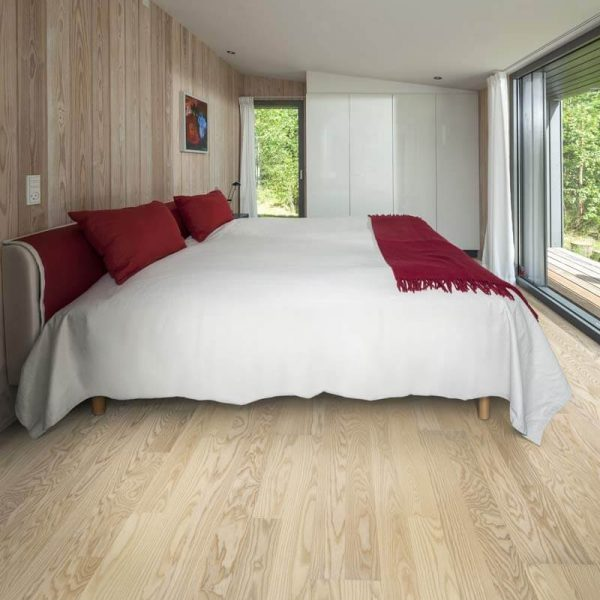 Kahrs Ash Falsterbo Engineered Wood Flooring - Room Set