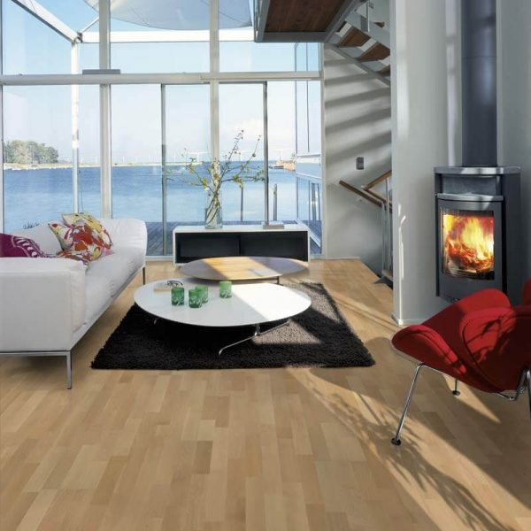 Kahrs Beech Hellerup Engineered Wood Flooring - Room Set