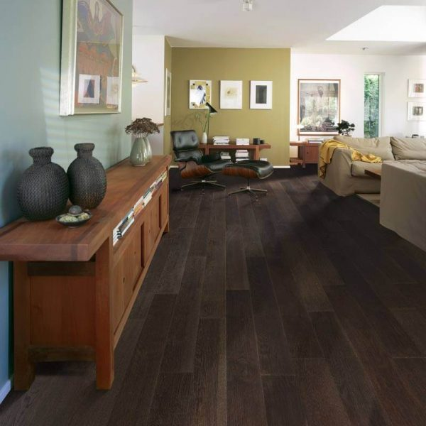 Kahrs Forest Oak Engineered Wood Flooring - Room Set
