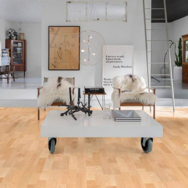 Kahrs Hard Maple Toronto Engineered Wood Flooring - Room