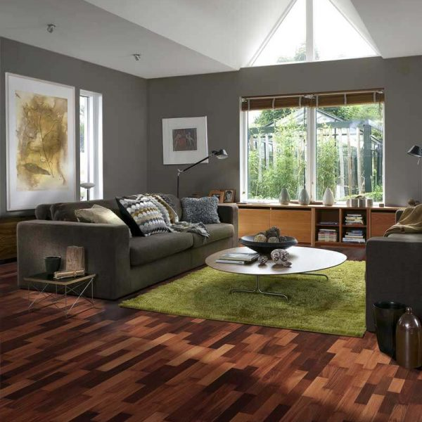 Kahrs Jarrah Sydney Engineered Wood Flooring - Room Set