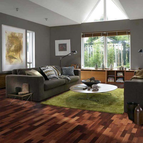 Kahrs Jarrah Sydney Engineered Wood Flooring - Room Set
