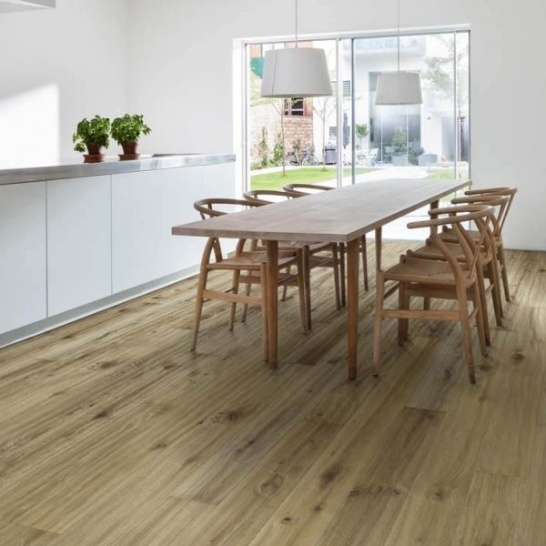Kahrs More Oak Engineered Wood Flooring - Room Set