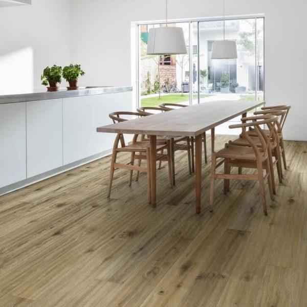 Kahrs More Oak Engineered Wood Flooring - Room Set