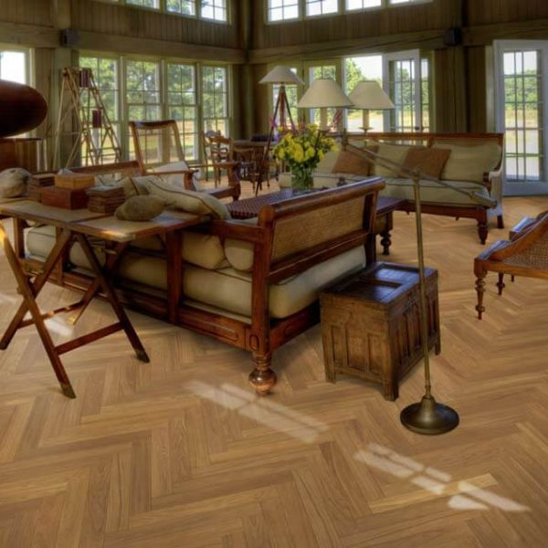 Kahrs Oak Herringbone AB Natural Matt Lacquer - Room