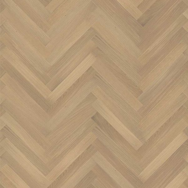 Kahrs Oak Herringbone AB White Natural Oil