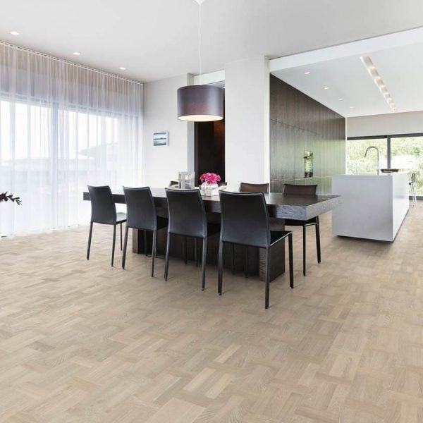 Kahrs Oak Palazzo Bianco Engineered Wood Flooring - Room Set