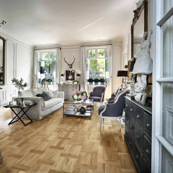 Kahrs Oak Palazzo Rovere Engineered Wood Flooring - Room Set