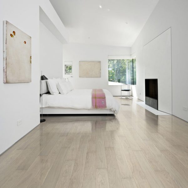 Kahrs Oak Pearl Engineered Wood Flooring - Room Set