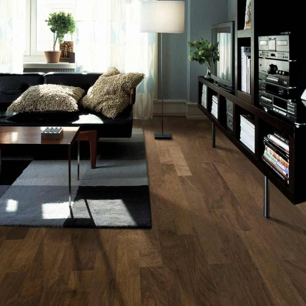 Kahrs Orchard Walnut Engineered Wood Flooring - Room Set