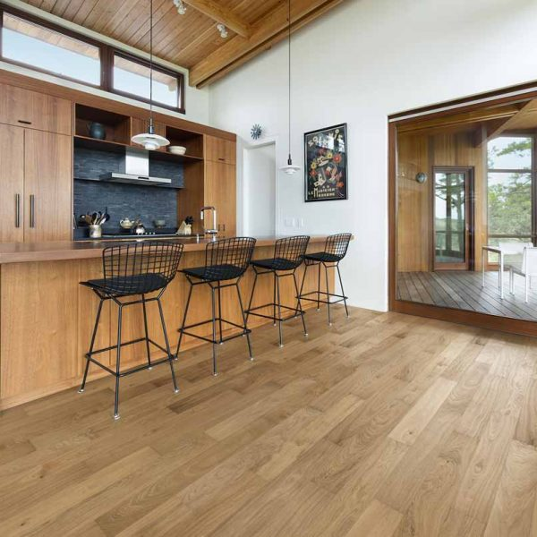 Kahrs Reef Oak Engineered Wood Flooring - Room Set