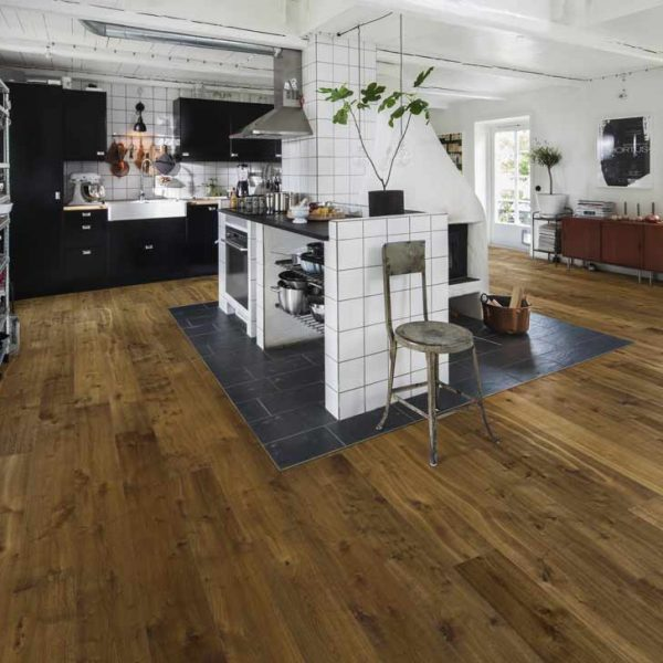 Kahrs Sevede Oak Engineered Wood Flooring - Room Set