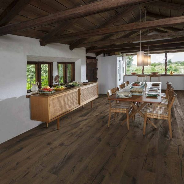 Kahrs Tveta Oak Engineered Wood Flooring - Room Set