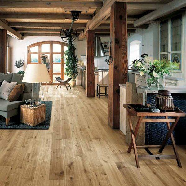 Kahrs Vedbo Oak Engineered Wood Flooring - Room Set