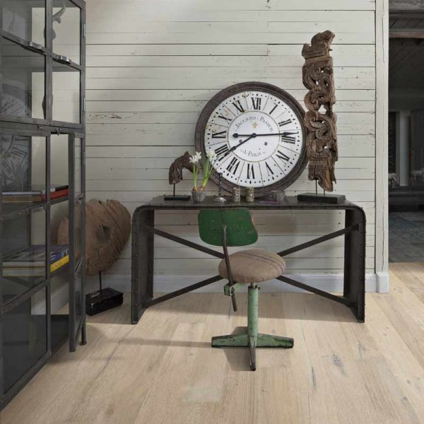 Kahrs Oak Gustaf Engineered Wood Flooring - Room Set