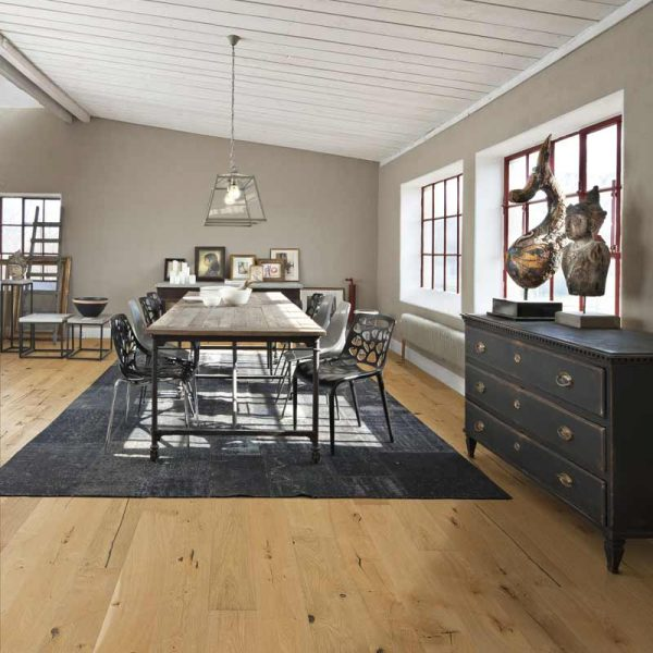 Kahrs Oak Johan Engineered Wood Flooring - Room Set
