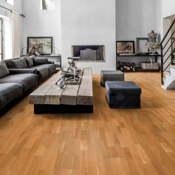 Kahrs Oak Lecco Satin Lacquer - Room