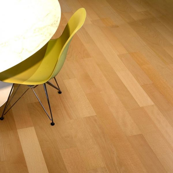 Kahrs Beech Autumn Engineered Wood Flooring - Room Set