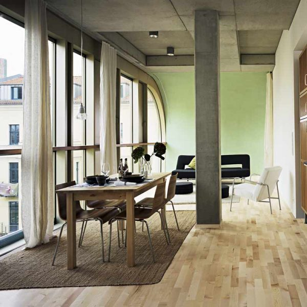 Kahrs European Maple Salzburg Engineered Wood Flooring - Room Set