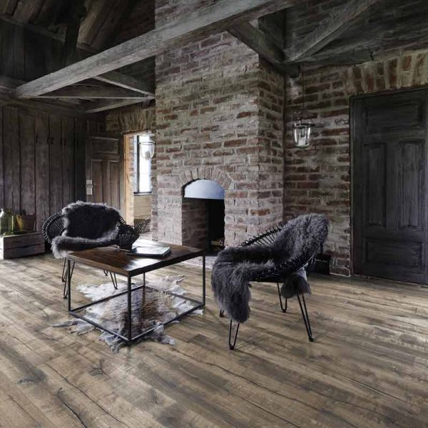 Kahrs Handbord Oak Engineered Wood Flooring - Room Set