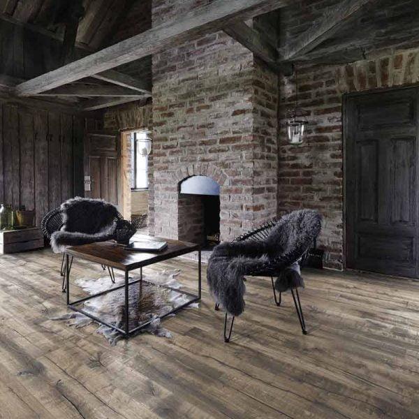 Kahrs Handbord Oak Engineered Wood Flooring - Room Set