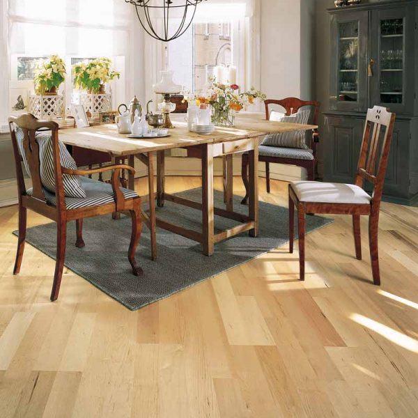 Kahrs Hard Maple Spring Engineered Wood Flooring - Room Set