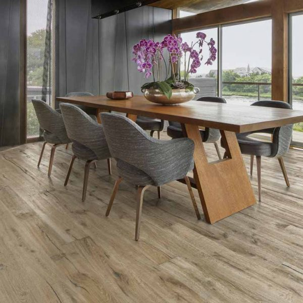 Kahrs Kinda Oak Engineered Wood Flooring - Room Set
