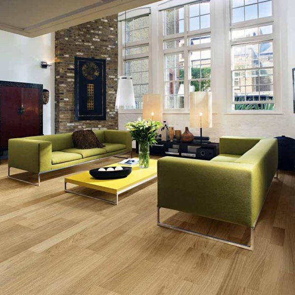 Kahrs Oak Breeze Matt Laquer Engineered Wood Flooring - Room Set
