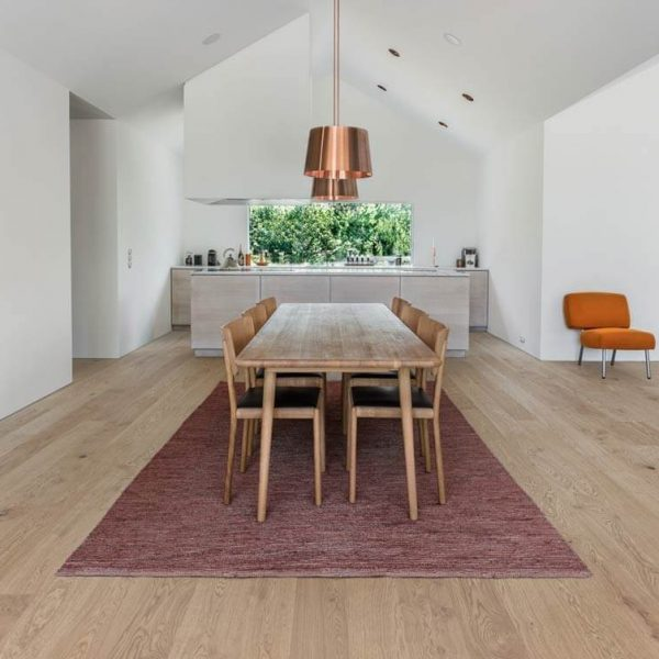 Kahrs Oak Coast Engineered Wood Flooring - Room Set