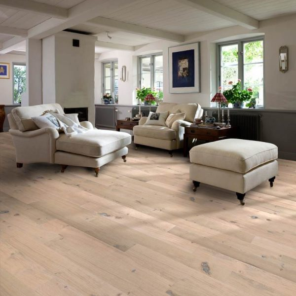 Kahrs Oak Colony Engineered Wood Flooring - Room Set