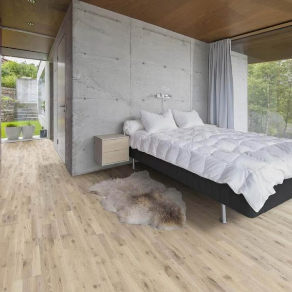 Kahrs Oak Dew Engineered Wood Flooring - Room Set