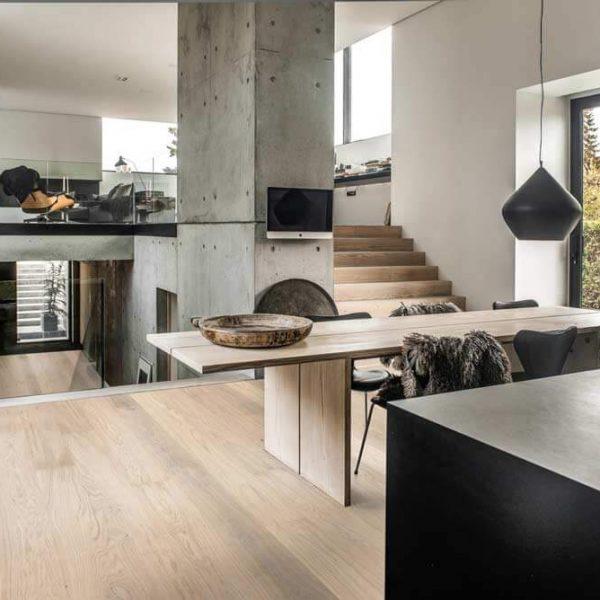 Kahrs Oak Horizon Engineered Wood Flooring - Room Set