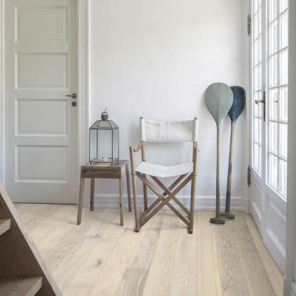 Kahrs Oak Nouveau Blonde Engineered Wood Flooring - Room Set