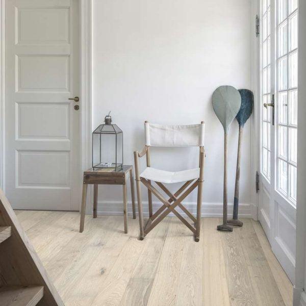 Kahrs Oak Nouveau Blonde Engineered Wood Flooring - Room Set