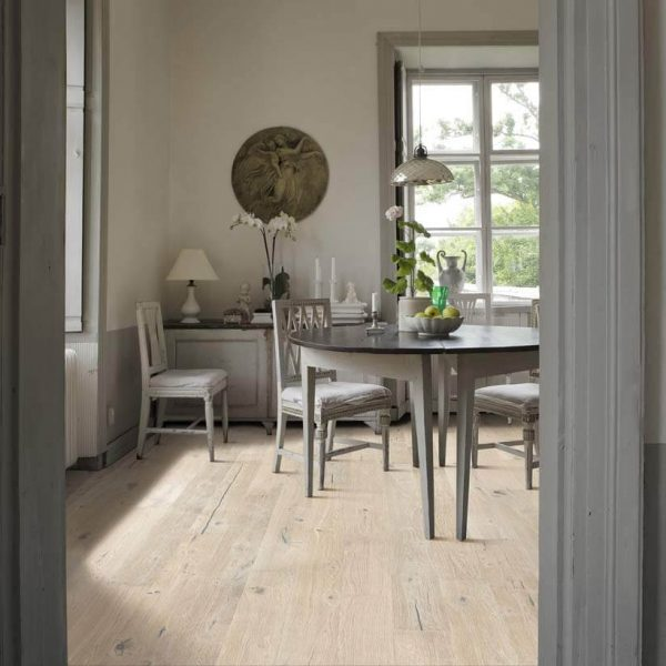 Kahrs Oak Olof Engineered Wood Flooring - Room Set