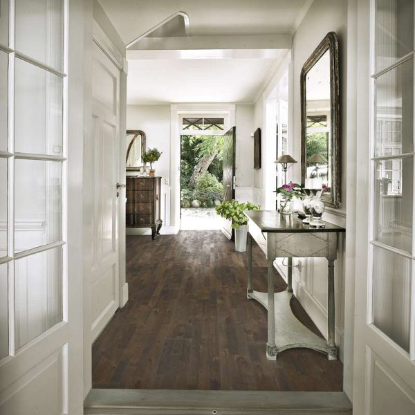 Kahrs Oak Soil Engineered Wood Flooring - Room Set