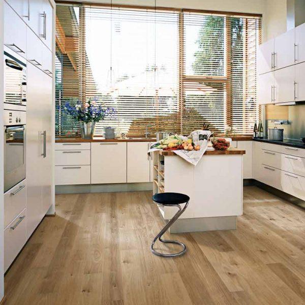 Kahrs Oak Sun Engineered Wood Flooring - Room Set