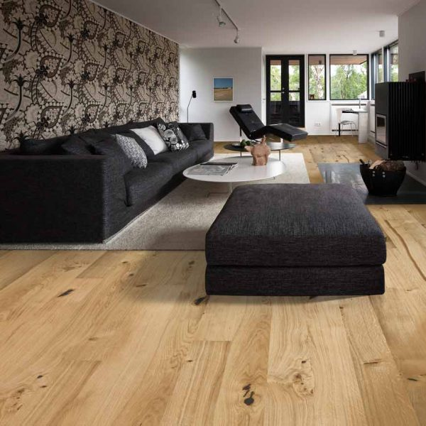 Kahrs Oak Village Engineered Wood Flooring - Room Set