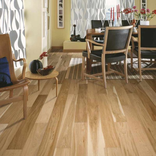 Kahrs Park Oak Engineered Wood Flooring - Room Set