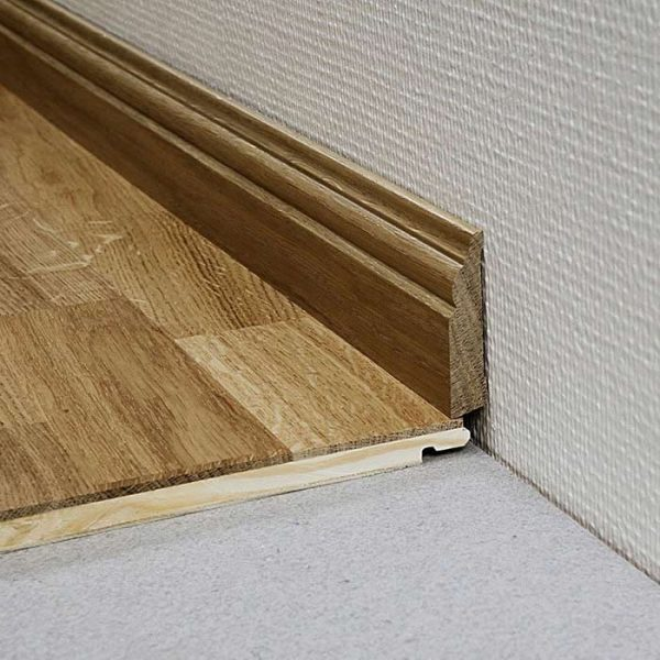 Kahrs Solid Wood Skirting 15 x 69 x 2400 mm
