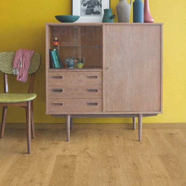 Quickstep Eligna White Oak Light Natural Planks EL1491 - Room