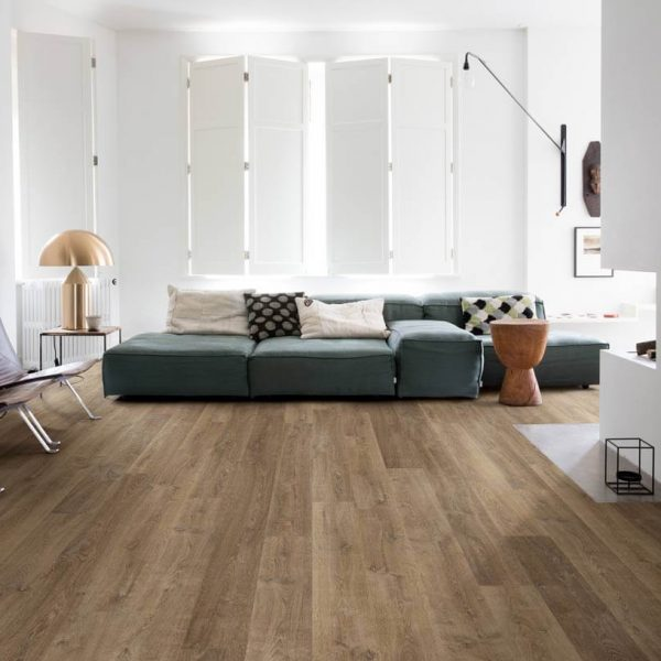 Quickstep Eligna Riva Oak Brown Planks EL3579 - Room