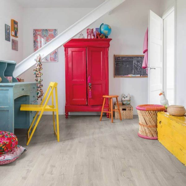 Quickstep Eligna Newcastle Oak Grey Planks EL3580 - Room