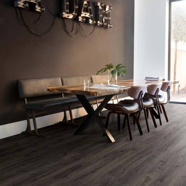Quickstep Eligna Newcastle Oak Dark Planks EL3581- Room