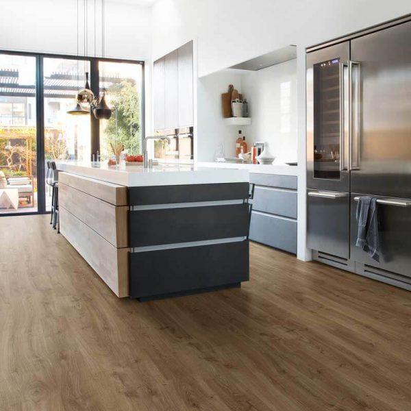 Quickstep Eligna Newcastle Oak Brown Planks EL3582 - Room