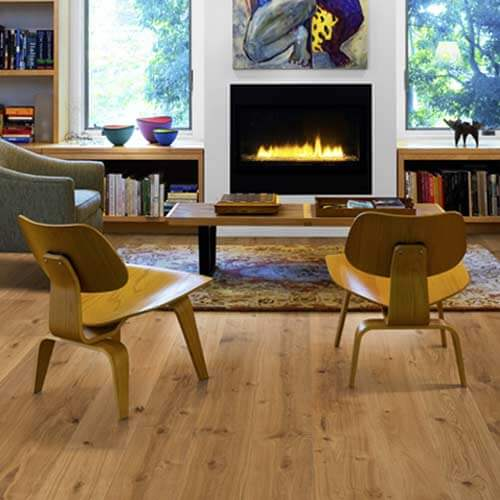 Lushwood Engineered Oak Nature Ganesh Oiled - Room View