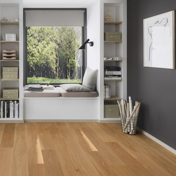 Boen Oak Castle Andante 209mm Matt Lacquer EIGV35FD - Room
