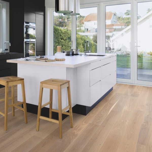 Boen Oak Castle Animoso White 209mm Oiled EIGV42FD - Room