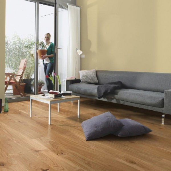 Boen Oak Castle Vivo 209mm Matt Lacquer EIGVV5FD - Room